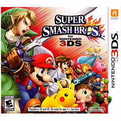 Super Smash Bros Video Game-Nintendo 3DS