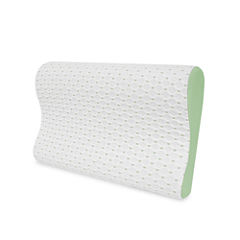 SensorPedic® SensorCOOL® Gel Overlay Contour Memory Foam Bed Pillow