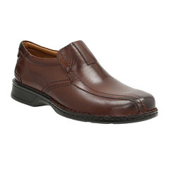 Clarks® Escalade Step Mens Leather Loafers