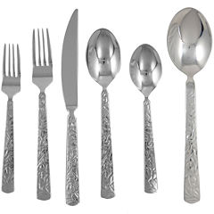Ginkgo® Mercury 42-pc. Flatware Set