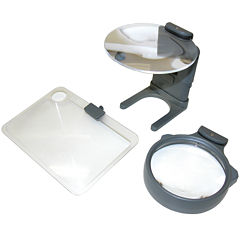 Hands Free Hobby Magnifier with 3 Lenses