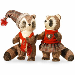 National Tree Co 12' Raccoon Pair