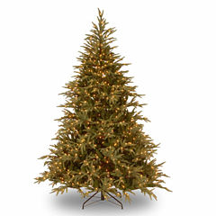 National Tree Co. 7 1/2 Foot Frasier Grande Hinged Pre-Lit Christmas Tree
