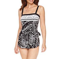 Le Cove Pattern Swim Dress