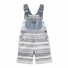 Oshkosh Stripe Shortalls - Baby