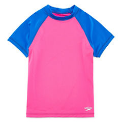 Speedo Rash Guard Set - Big Kid