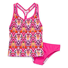 Speedo Girls Tankini Set - Big Kid