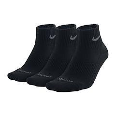 Nike® 3-pk. Dri-FIT Quarter Socks