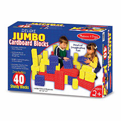Melissa & Doug® Deluxe Jumbo Cardboard Blocks (40 pc)