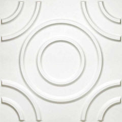 Donny Osmond Circles 19.6x19.6 Self Adhesive Wall Tile - 10 Tiles/26.70 Sq Ft.