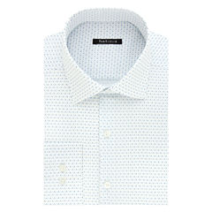 Van Heusen Long Sleeve Woven Pattern Dress Shirt - Slim