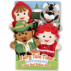 Melissa & Doug® Fairy Tale Time Hand Puppets - Little Red Riding Hood