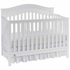 Fisher Price Aubree Convertible Crib White