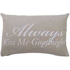Park B. Smith® Good Night Oblong Decorative Pillow
