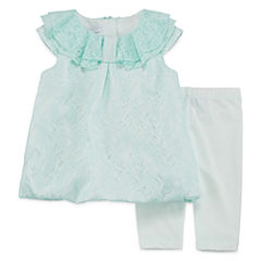 Marmellata 2-pc. Dress and Leggings Set - Baby Girls 3m-24m