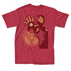 Short Sleeve Iron Man Graphic T-Shirt