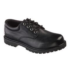 Skechers® Cottonwood Elk Mens Work Oxford Shoes