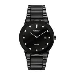 Citizen® Eco-Drive® Axiom Mens Diamond-Accent Watch AU1065-58G