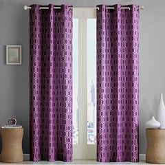 Lexie Grommet-Top Teen Curtain Panel Pair