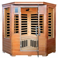 3-Person Sauna with 7 Carbon Heaters