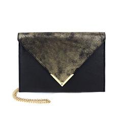 Olivia Miller Liv Distressed Flap Envelope Clutch Crossbody Bag