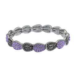 Monet Jewelry Womens Purple Stretch Bracelet