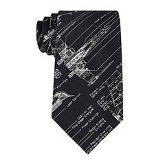 Star Wars® Blue Print Tie