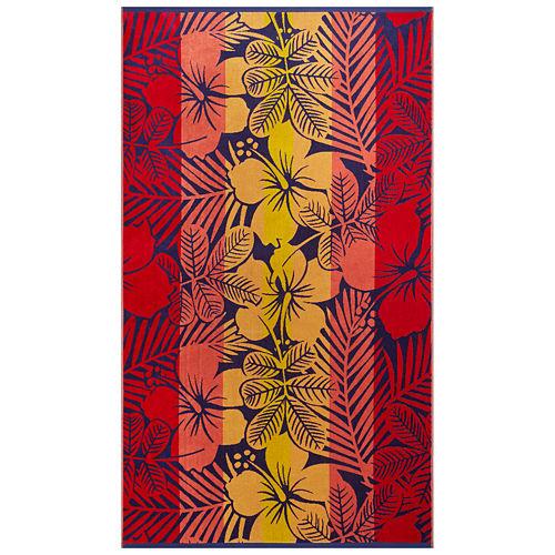Softesse™ Hibiscus 40x72 Beach Towel