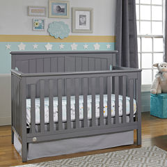 Fisher Price Colton Convertible Crib - Grey
