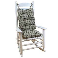 Klear Vu Seashell Jumbo Universal Rocking Chair Cushions