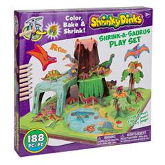 Shrinky Dinks Shrink A Saurus Play Set