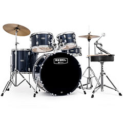 Mapex RB5044FTCYB Rebel 5-pc. Drum Set with Hardware & Cymbals with 20
