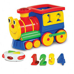 The Learning Journey Remote Control Shape Sorter -Number Express Train