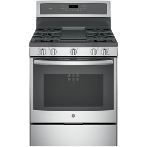 GE Profile™ 30 5.6 Cu. Ft. Gas Range with Self Cleaning Convection Oven