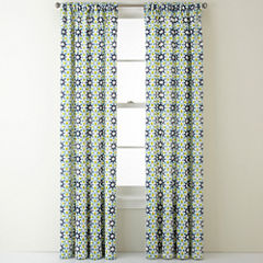 JCPenney Home™ Camarillo Rod-Pocket/Back-Tab Curtain Panel