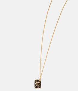 Arizaga Spade/Diamond 2 in 1 Necklace