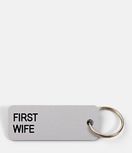 First Wife Keytag by Various Keytags