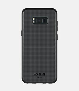 Samsung Galaxy S8+ Graph Check Printed Clear Case