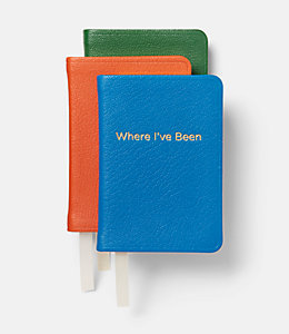 What I Need Mini Leather Journal