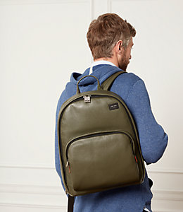 Mason Leather Backpack