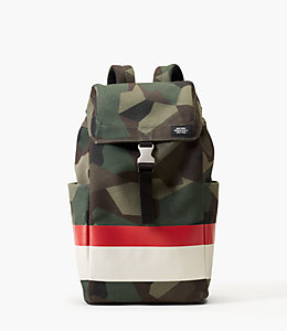 M90 Camo Canvas Backpack