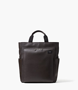 Pebbled Leather Utility Tote