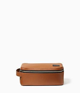 Pebbled Leather Dopp Kit