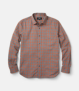 Grant Heather Check Point Collar Shirt