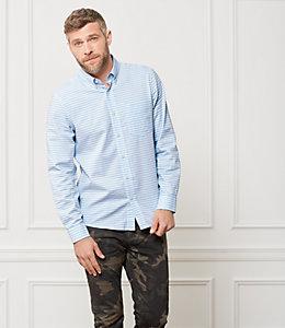 Palmer Bold Horizontal Striped Shirt