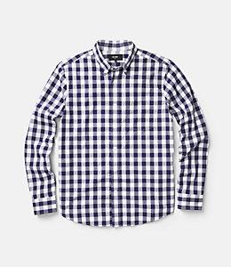 Sheppard Trapunto Gingham Shirt