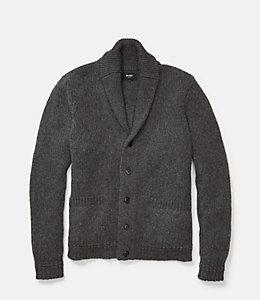 Chunky Shawl Collar Cardigan