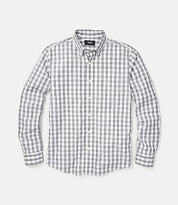 Palmer Heathered Gingham One Pocket Shirt