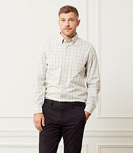 Sheppard Trapunto Heathered Tattersall Shirt