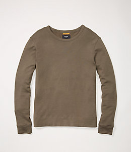 Micro Terry Long Sleeve Tee